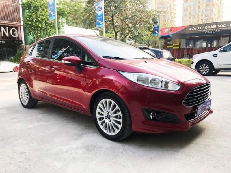 Bán Ford Fiesta 1.0 Ecoboost năm 2017, màu đỏ số tự động, giá tốt (6)