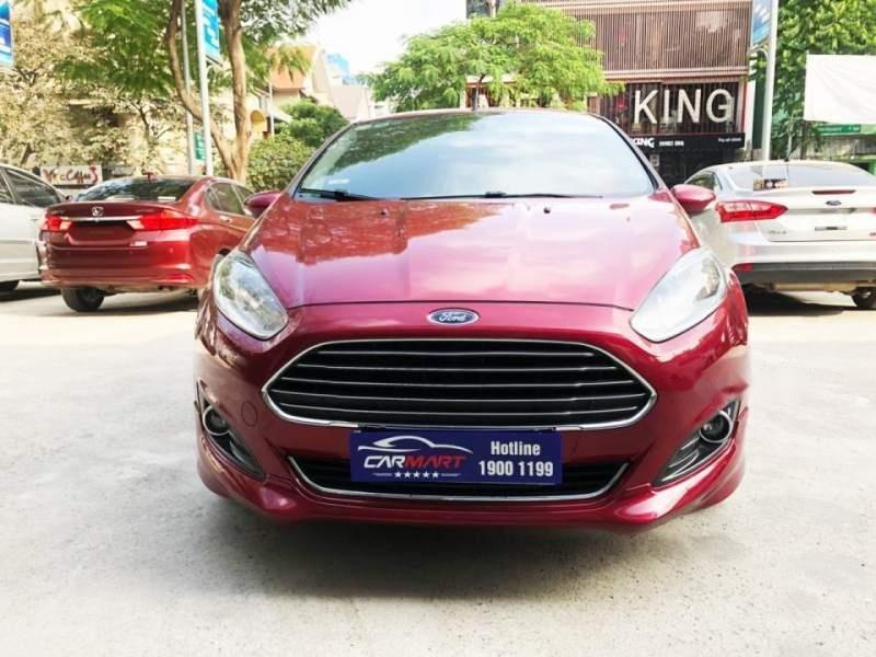 Bán Ford Fiesta 1.0 Ecoboost năm 2017, màu đỏ số tự động, giá tốt (1)