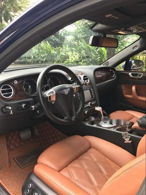 Gia đình bán xe Bentley Flying Spur Speed 2009, màu xanh lam, xe nhập-1