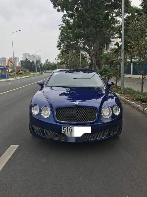 Gia đình bán xe Bentley Flying Spur Speed 2009, màu xanh lam, xe nhập-5