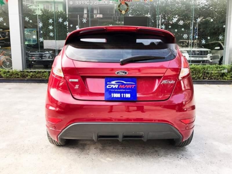 Bán Ford Fiesta 1.0 Ecoboost năm 2017, màu đỏ số tự động, giá tốt (4)