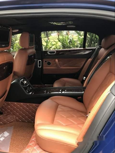 Gia đình bán xe Bentley Flying Spur Speed 2009, màu xanh lam, xe nhập-2