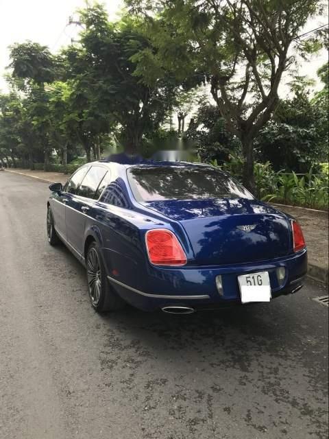 Gia đình bán xe Bentley Flying Spur Speed 2009, màu xanh lam, xe nhập-0