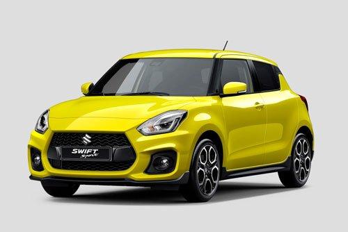 10 mẫu xe giá rẻ tốt nhất hiện nay: Suzuki Swift Sport.
