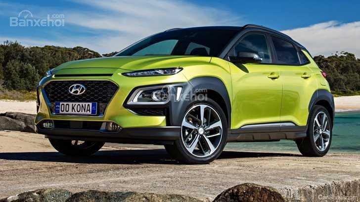 Đầu xe Hyundai Kona 2019