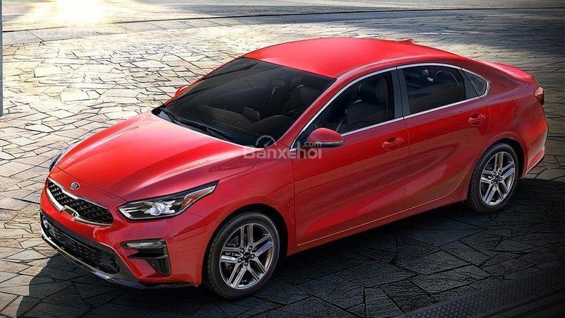 Kia Forte 2019 màu đỏ