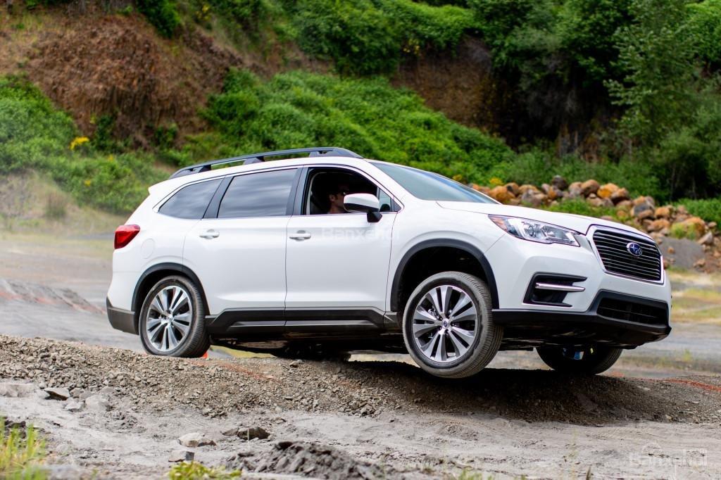 Subaru Ascent 2019 màu trắng