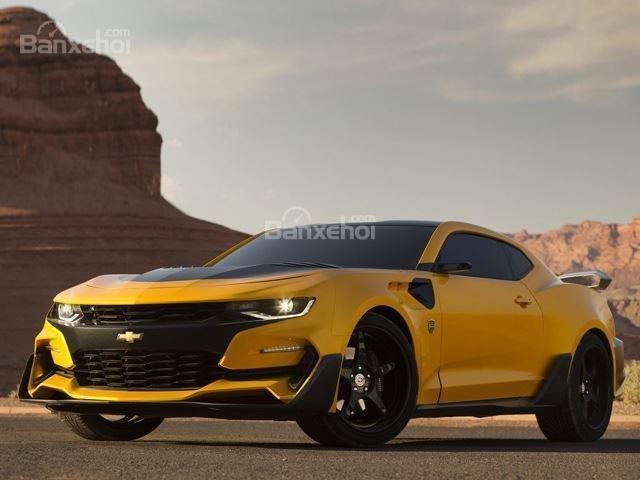 Chevrolet Camaro 2019 màu vàng