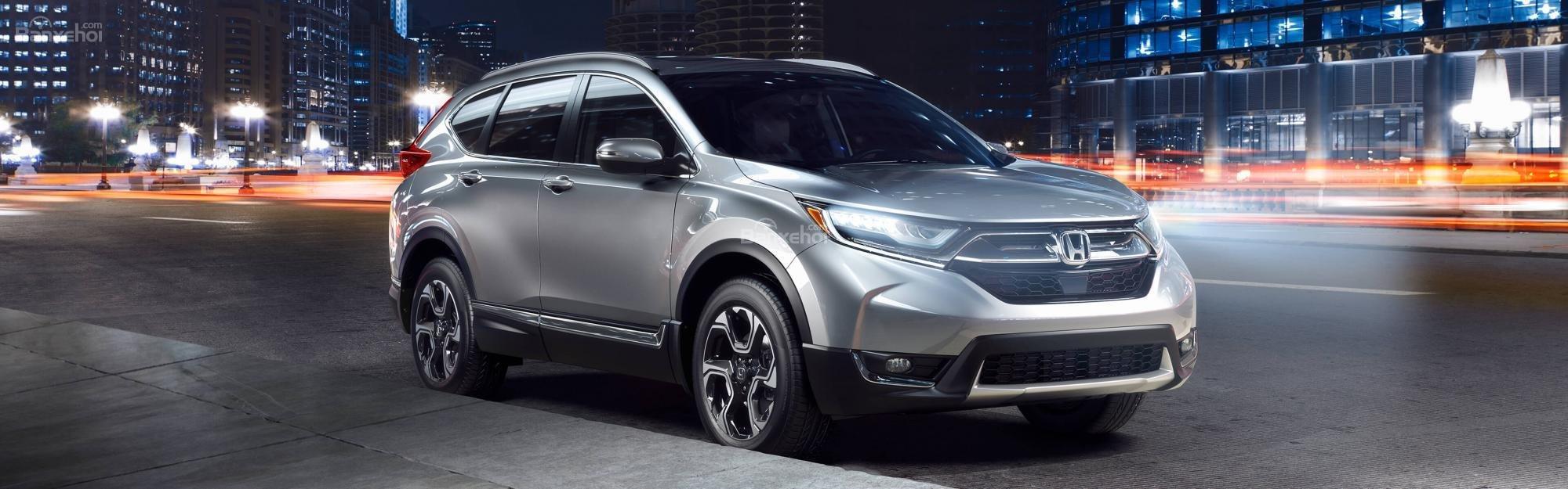 Honda CR-V 2018 màu bạc