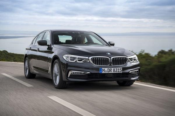 Thiết kế ngoại thất của BMW 5-Series