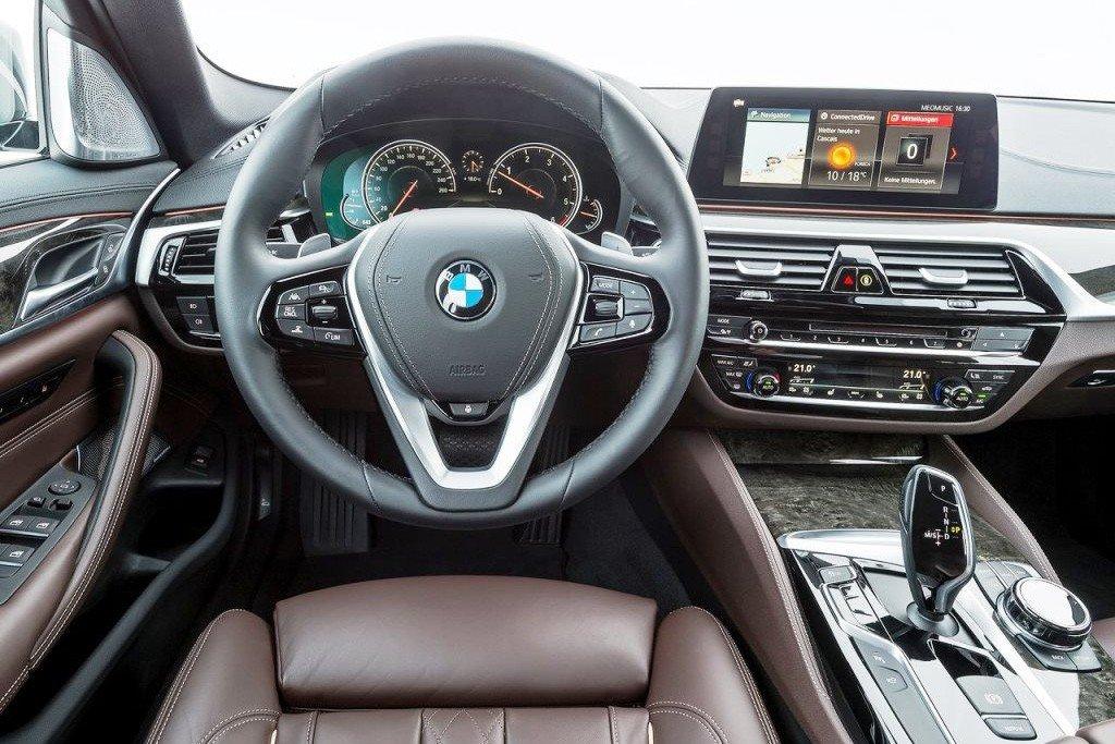 Nội thất của BMW 5-Series mới
