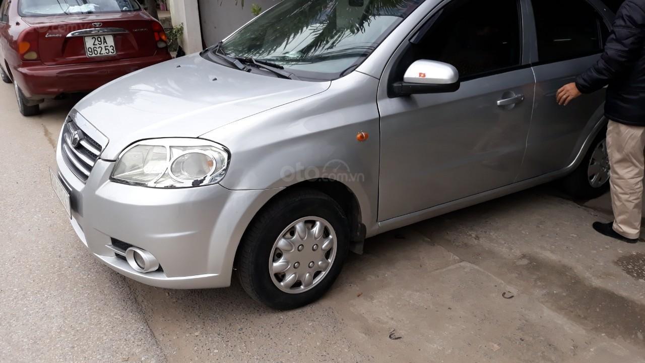 Bán Daewoo Gentra cũ đời 2007 màu bạc, giá tốt, xe chất (1)
