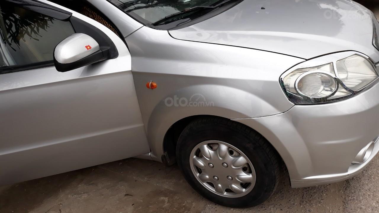 Bán Daewoo Gentra cũ đời 2007 màu bạc, giá tốt, xe chất (3)