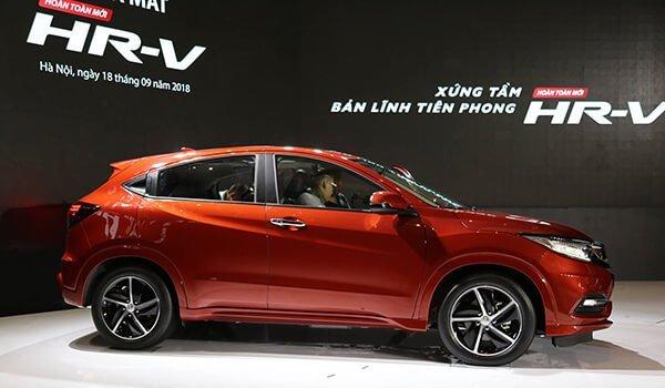 Đánh giá xe Honda HR-V 2018: Thiết kế thân xe phiên bản L 1