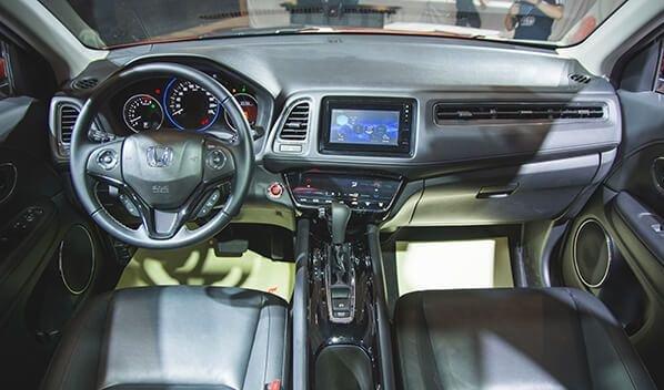 """Khoang nội thất của Honda HR-V 2018 thiết kế theo nguyên lý nguyên lý """"Exciting H design"""" a1"""
