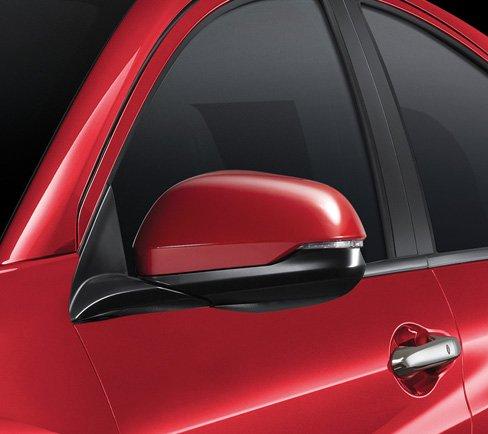 Đánh giá xe Honda HR-V 2018: Gương chiếu hậu chỉnh điện, gập điện tích hợp báo rẽ 1