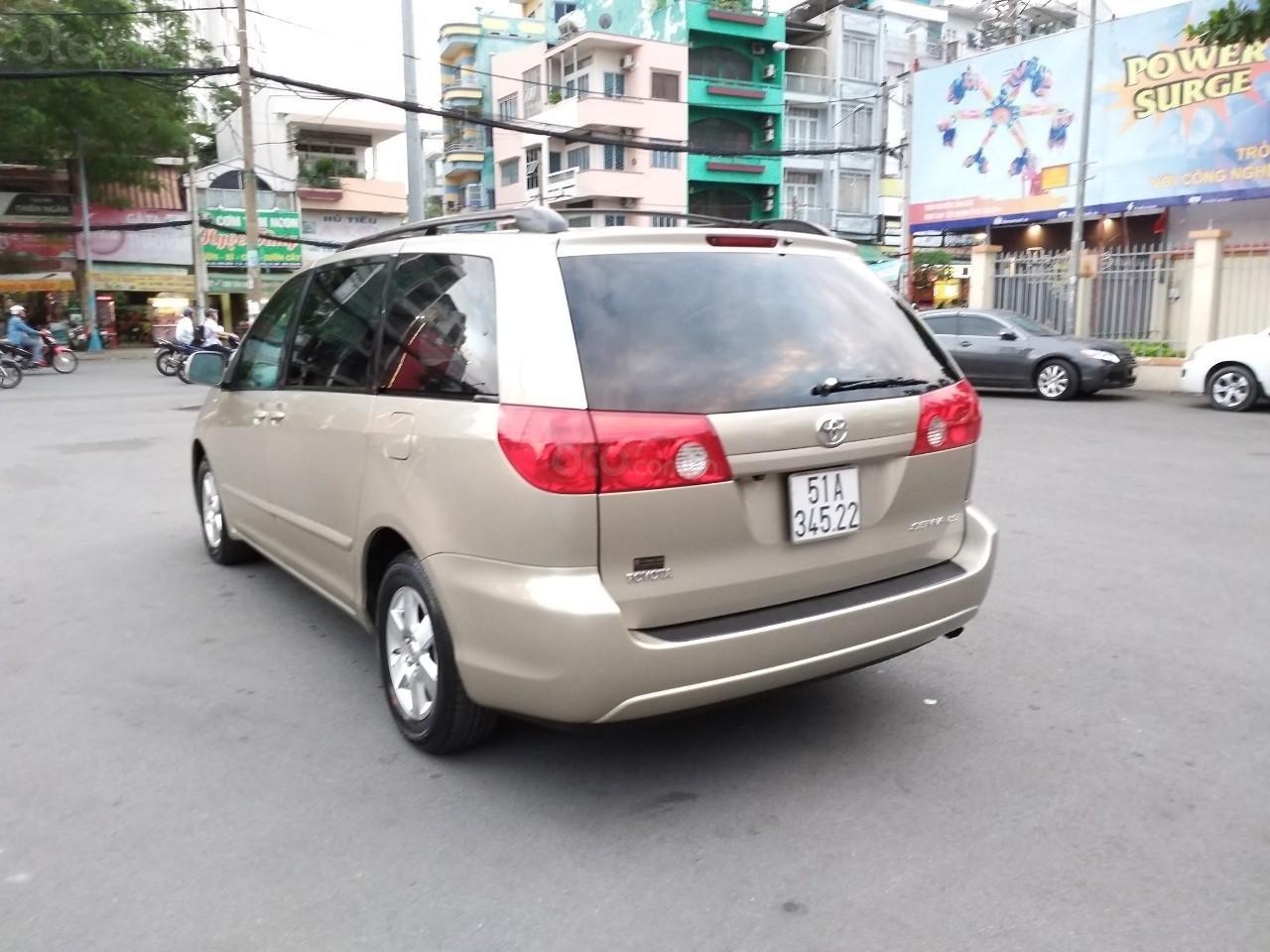 Bán Toyota Sienna LE 2008, màu vàng, nhập khẩu còn rất mới, 685 tr-6