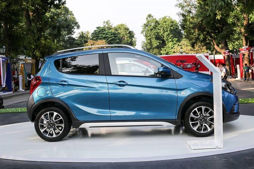 So sánh xe VinFast Fadil 2019 và Chevrolet Spark 2019 về thân xe.