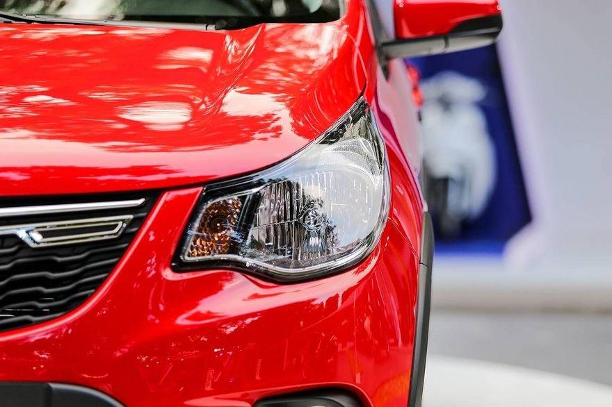 So sánh xe VinFast Fadil 2019 và Chevrolet Spark 2019 về đầu xe 5