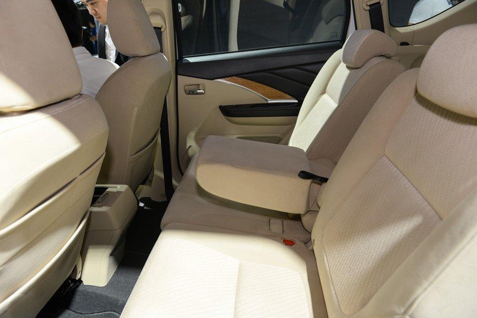Ảnh ghế hàng 2 xe Mitsubishi Xpander 2018