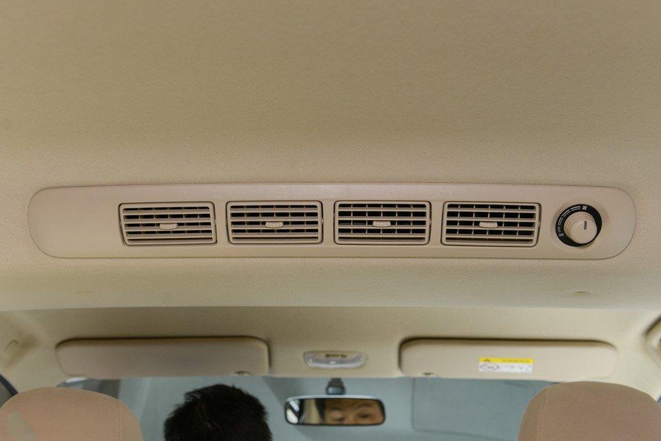 Ảnh chụp dàn lạnh xe Mitsubishi Xpander 2018
