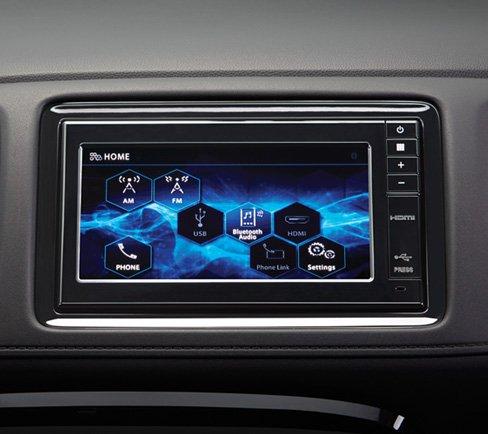 Đánh giá xe Honda HR-V 2018: Màn hình cảm ứng 1