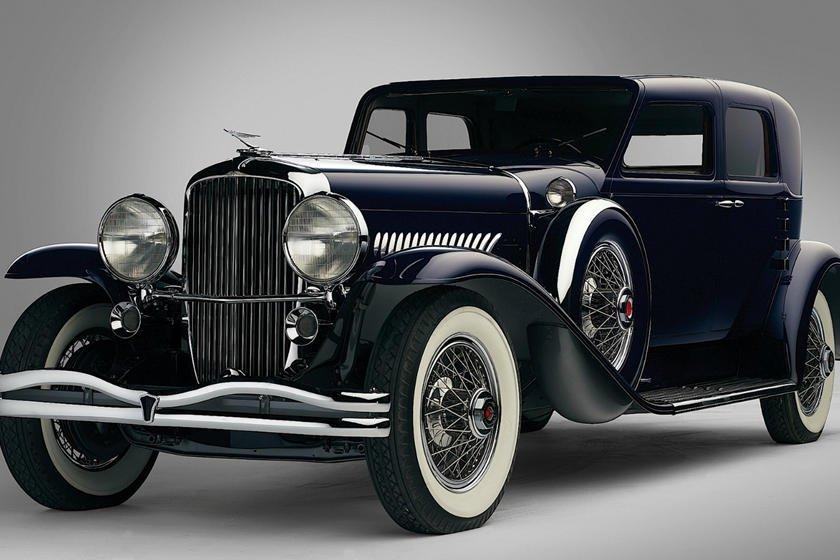 Khám phá 10 logo trên mui xe ấn tượng nhất toàn cầu-Duesenberg Model J 1929 1.