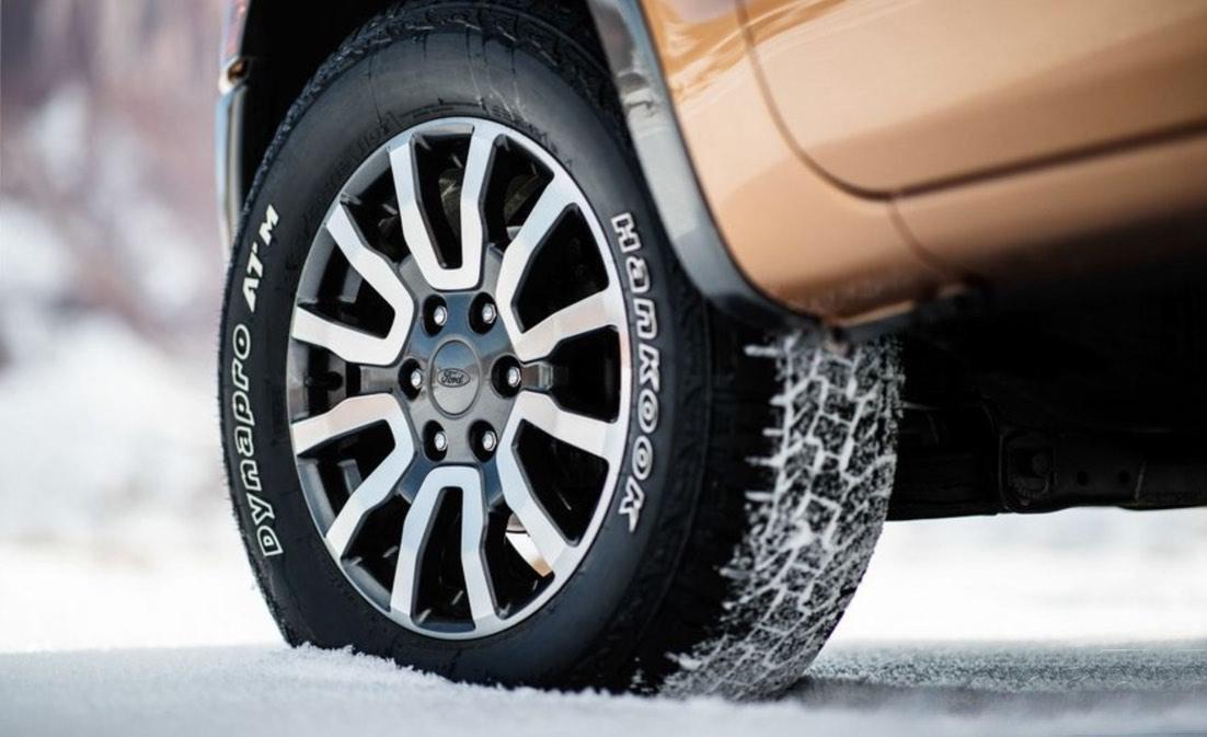 Thân xe Ford Ranger Wildtrak 2019: Mâm xe.
