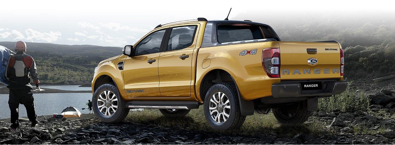 Đuôi xe Ford Ranger Wildtrak 2019.