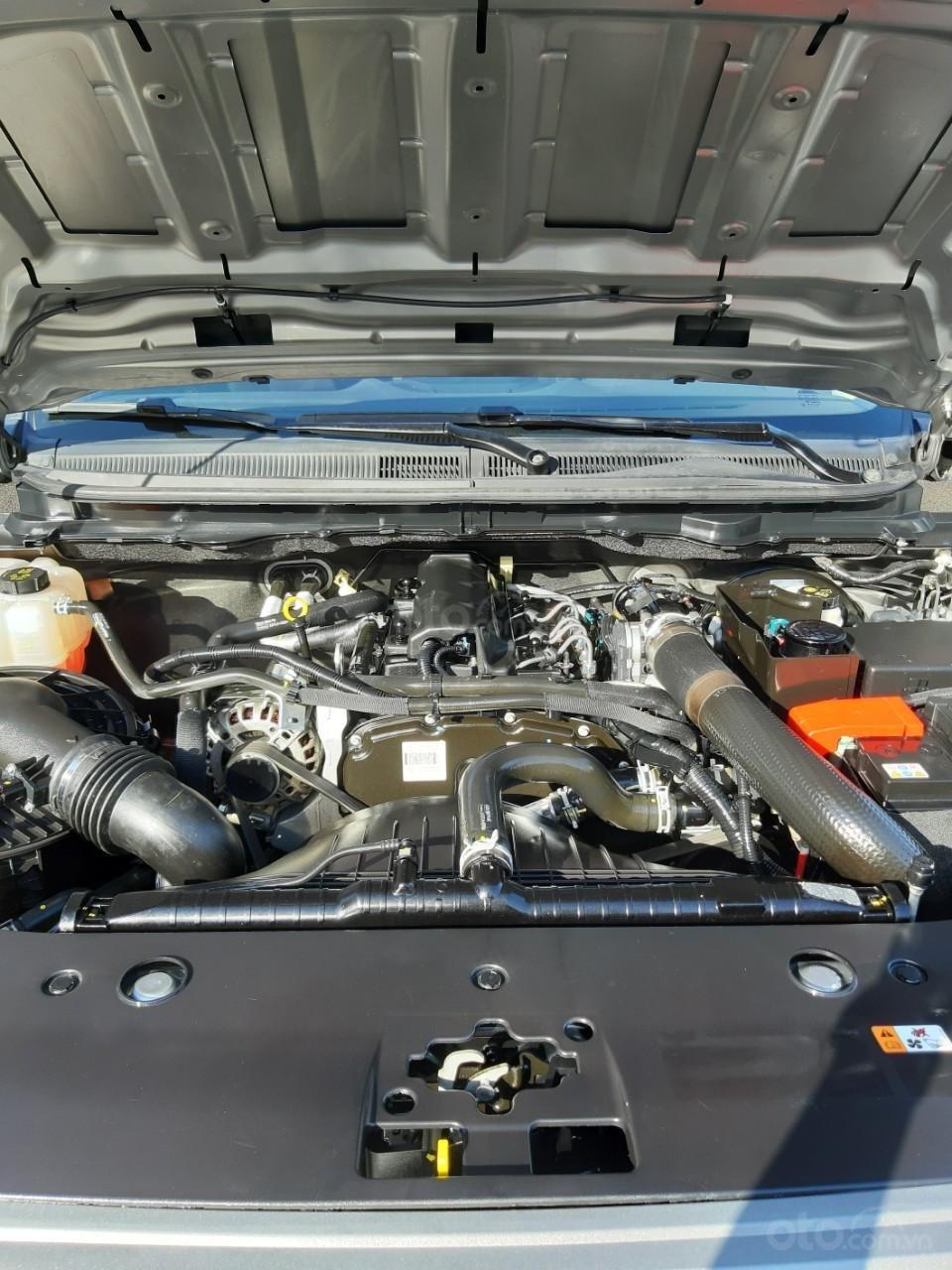 Bán Ford Ranger XLS model 2017, màu bạc, nhập khẩu, gắn thêm thùng còn mới toanh, giá 600tr-5