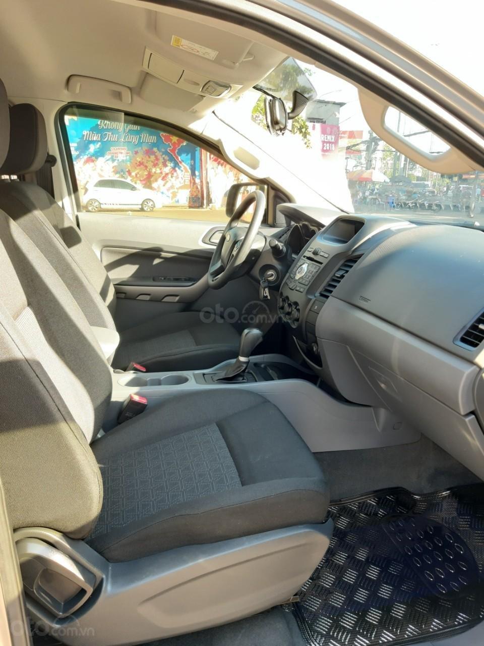 Bán Ford Ranger XLS model 2017, màu bạc, nhập khẩu, gắn thêm thùng còn mới toanh, giá 600tr-11