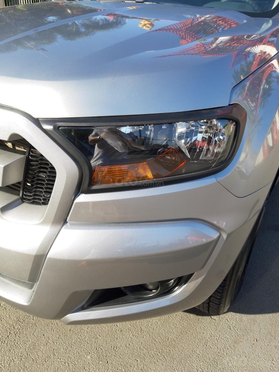 Bán Ford Ranger XLS model 2017, màu bạc, nhập khẩu, gắn thêm thùng còn mới toanh, giá 600tr-15