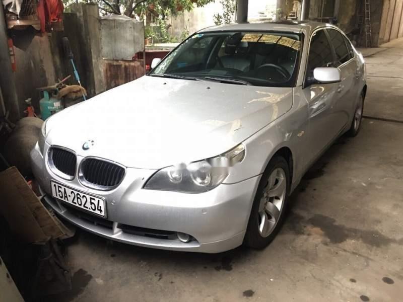 Bán xe BMW 5 Series 530i năm sản xuất 2004, màu bạc, xe nhập, 400tr (6)