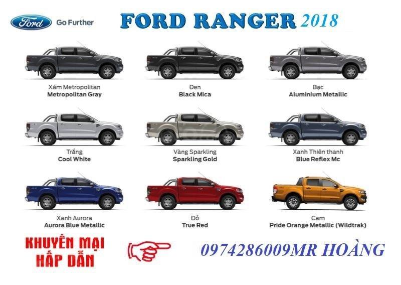 An đô Ford bán  Ford ranger đủ các phiên bản  XLS AT, MT (Wild track bitorbo..) giá tốt giao xe ngay LH 0974286009-5