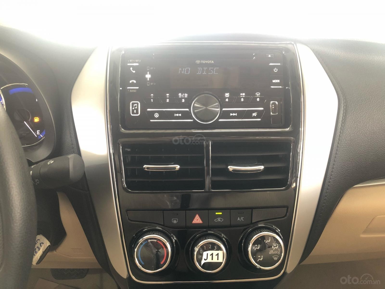 Toyota Hùng Vương có xe Vios E số tự động, đời 2019, giao ngay, đủ màu-7