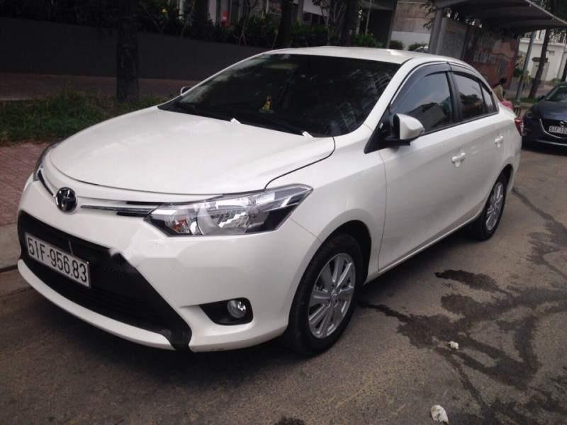 Cần bán gấp Toyota Vios năm sản xuất 2016, màu trắng, xe nhập, giá chỉ 480 triệu-0