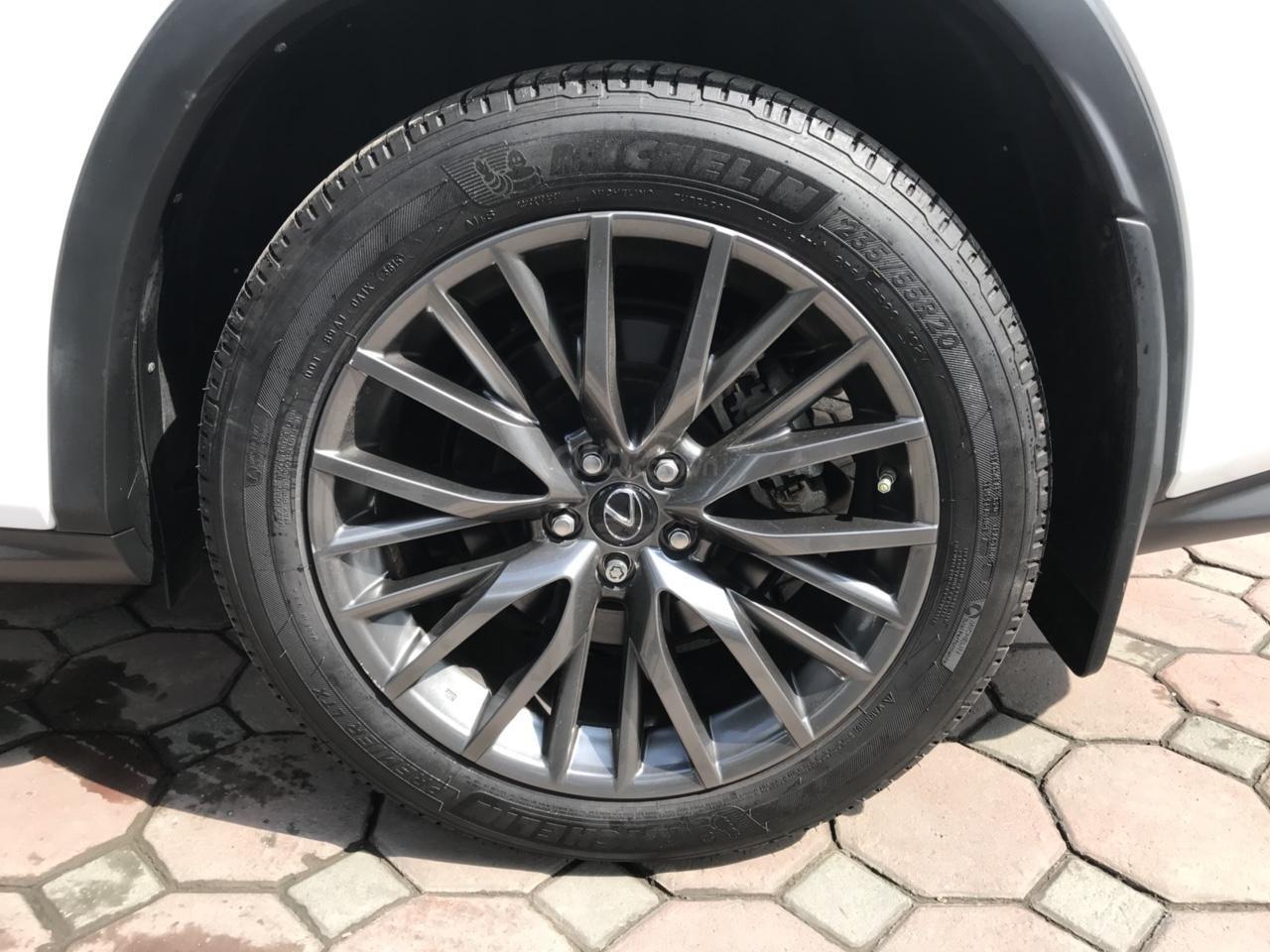 Bán Lexus RX 350 Fsport 2016, màu trắng, xe nhập Mỹ, LH Ms Hương 0945392468 (15)