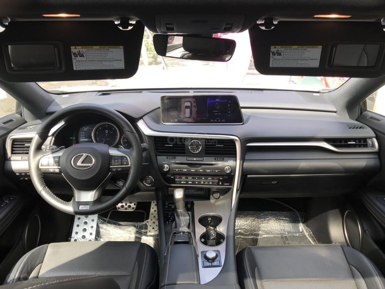 Bán Lexus RX 350 Fsport 2016, màu trắng, xe nhập Mỹ, LH Ms Hương 0945392468 (18)