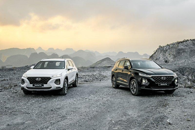 """Hyundai Santa Fe 2019 chính thức ra mắt, giá """"mềm"""" đáng kỳ vọng a25 a256"""