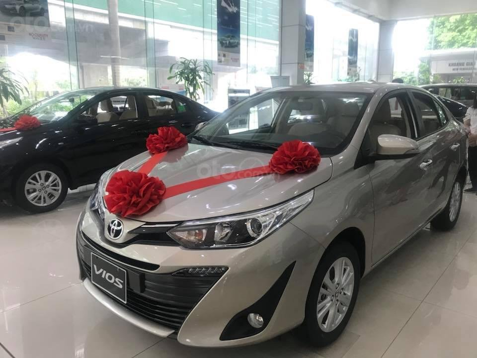 Bán Toyota Vios 2019 giảm giá tiền mặt cực sốc, giao xe ngay, hỗ trợ mọi thủ tục (1)