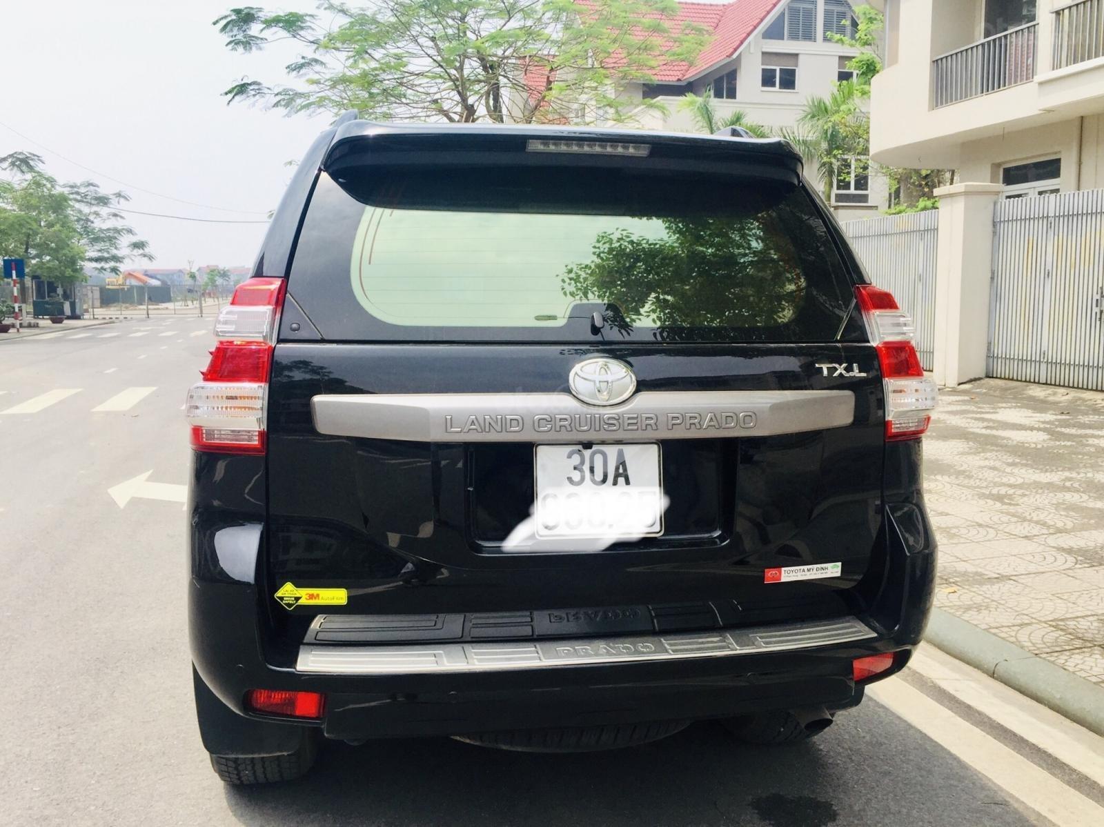 Bán Toyota Prado TXL đời 2016, màu đen, nhập khẩu-1
