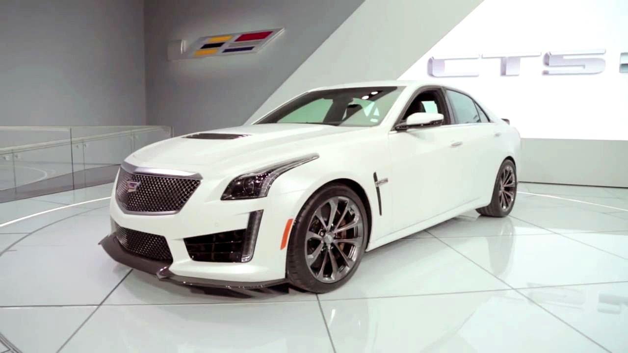 Cadillac CTS V-Sport-Top 10 mẫu xe đáng mua nhất năm 2019.