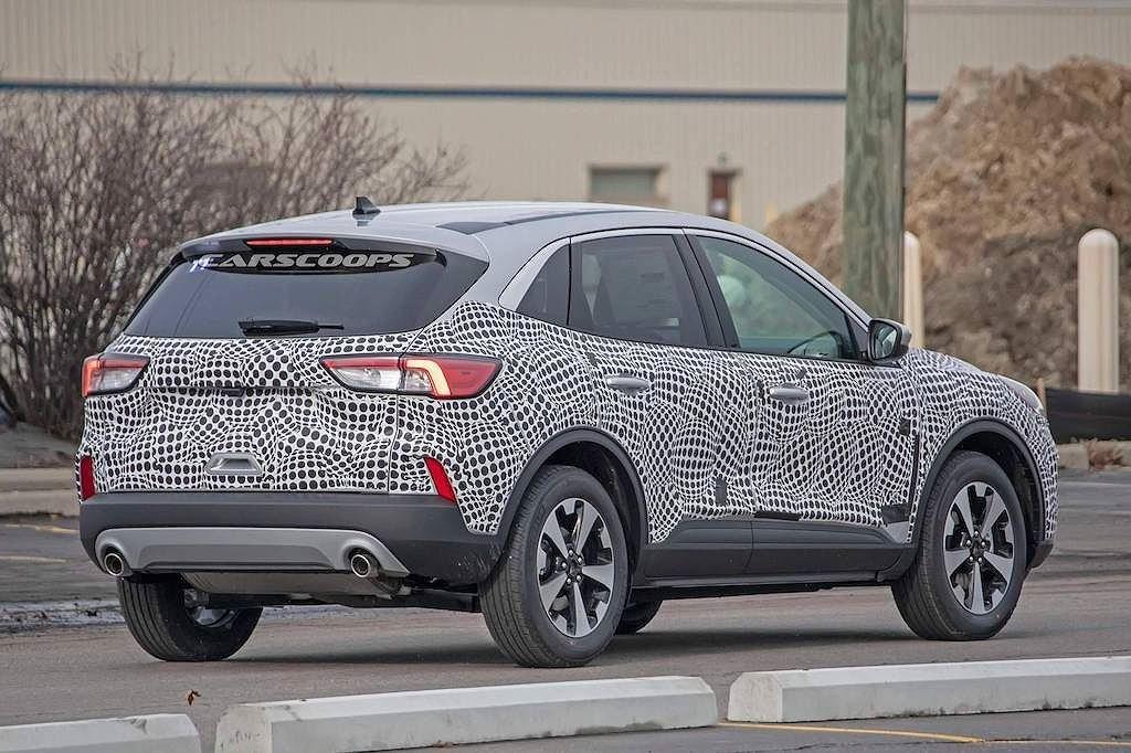 Ford Escape 2020 lộ diện trên đường thử với ngoại hình đậm chất Focus a4