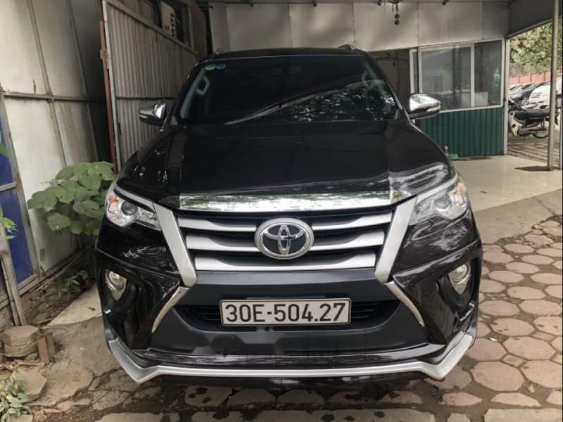 Cần bán xe Toyota Fortuner MT năm 2017, màu đen, nhập khẩu nguyên chiếc -0