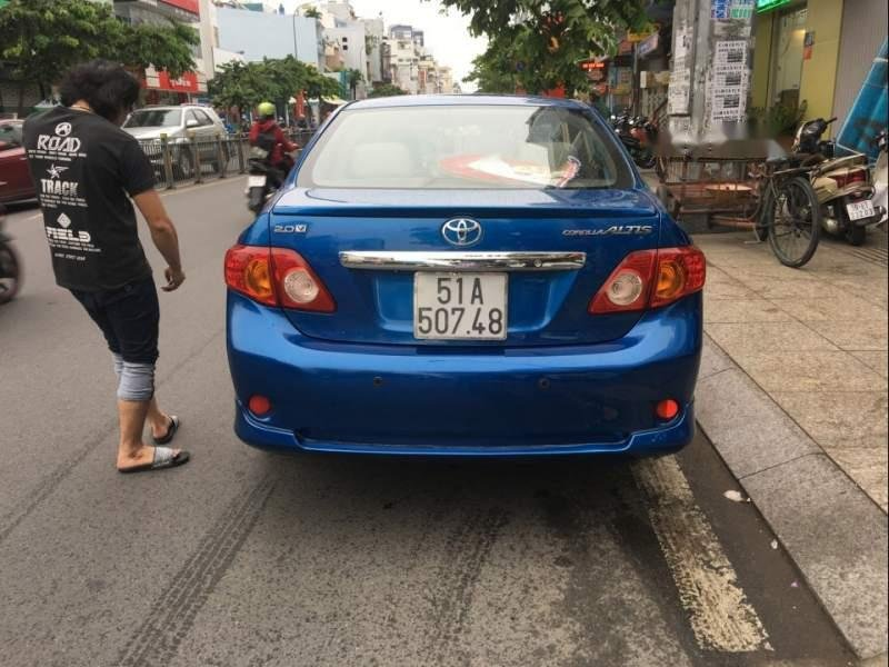 Xe Toyota Corolla altis AT đời 2009, màu xanh lam, 475 triệu-2
