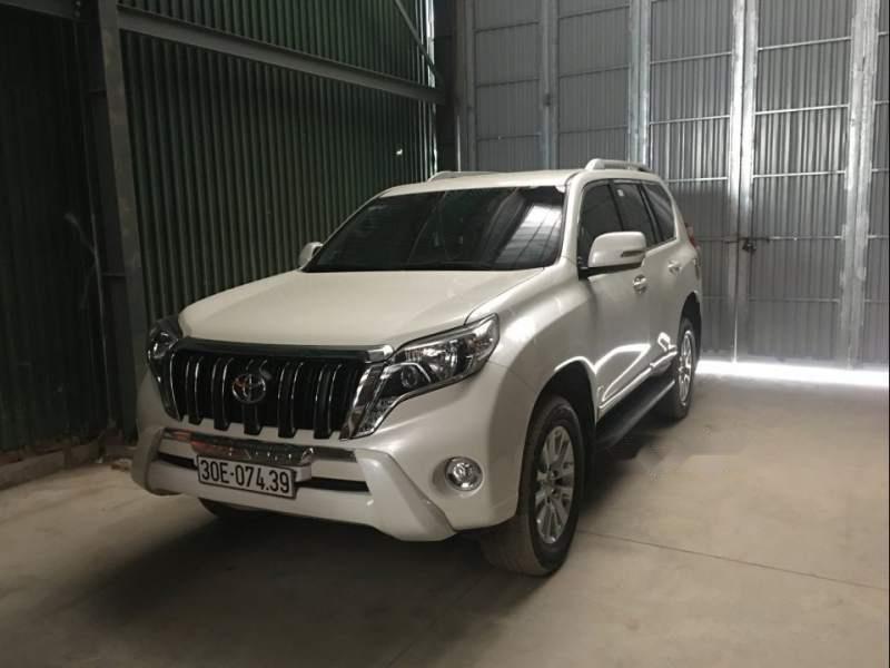 Cần bán lại xe Toyota Prado sản xuất năm 2016, màu trắng, giá tốt-1