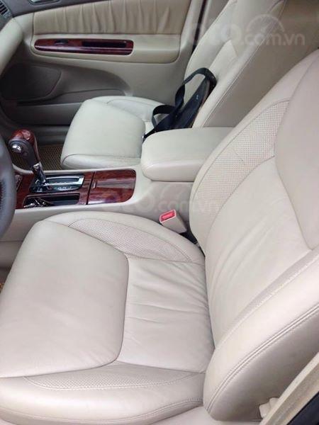 Gia đình cần bán Camry V6 2002, số tự động, màu đen gia đình sử dụng rất kĩ (2)