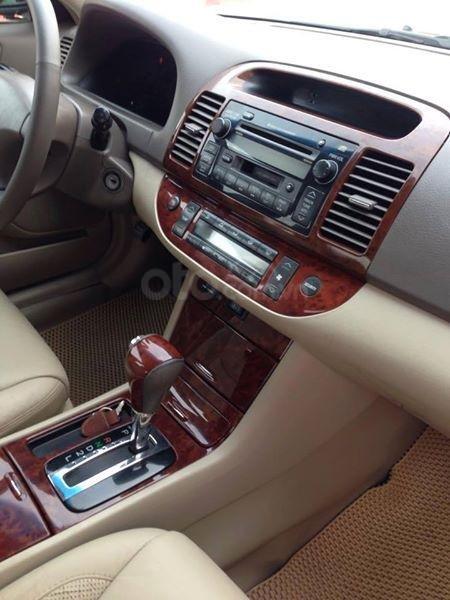 Gia đình cần bán Camry V6 2002, số tự động, màu đen gia đình sử dụng rất kĩ (8)