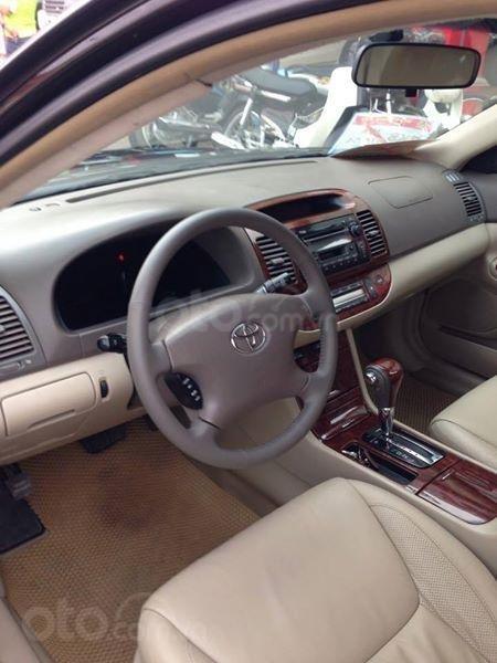 Gia đình cần bán Camry V6 2002, số tự động, màu đen gia đình sử dụng rất kĩ (7)