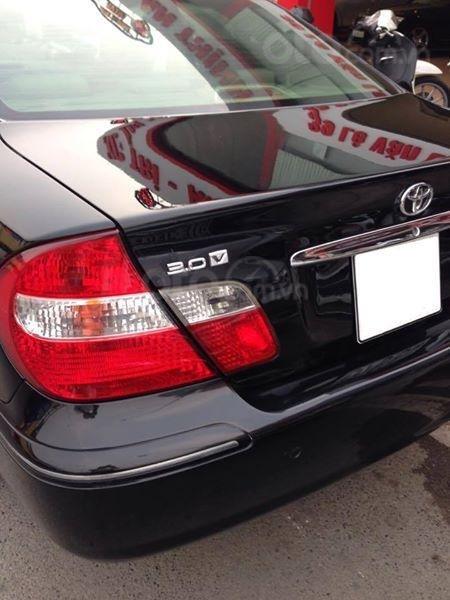 Gia đình cần bán Camry V6 2002, số tự động, màu đen gia đình sử dụng rất kĩ (4)
